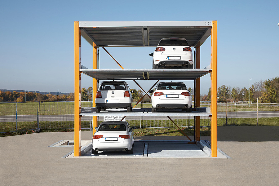Otomatik araç parkı sistemi fotoğrafı 2