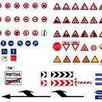 Trafik işaretleri dwg