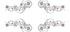 2-boyutlu-cicek-motifleri-dwgindir