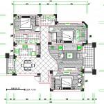 3+1 müstakil ev planı