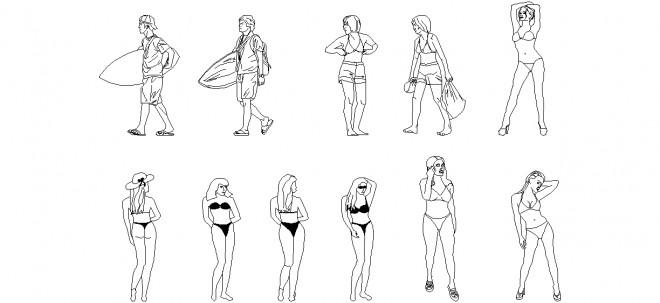 plaj-insanlari-dwgindir
