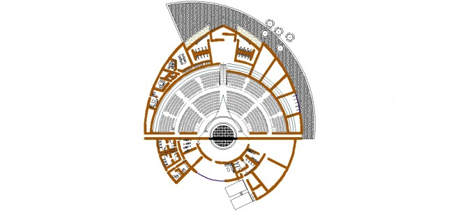 acik-hava-tiyatrosu-plani-dwgindir