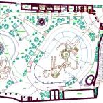 Aqua park plan çizimi