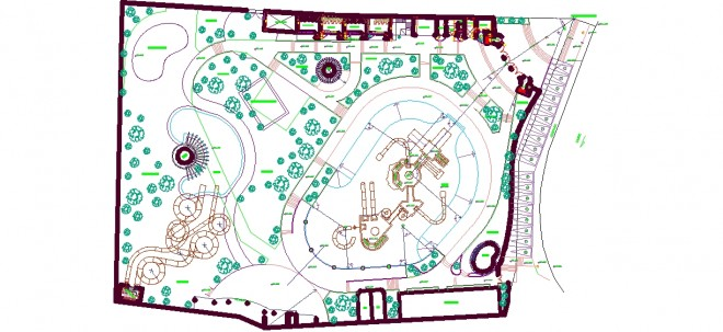 aqua-park-plan-cizimi-dwgindir