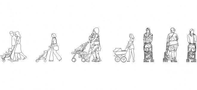 bebek-arabali-insanlar-dwgindir