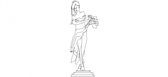 kadin-heykeli-cizimi-dwgindir