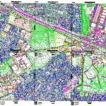 Kartal cevizli harita paftası