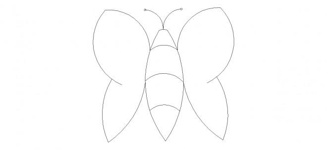 kelebek-cizimi-dwgindir