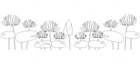 lotus-cicegi-cizimleri-dwgindir