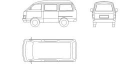 minivan-cizimi-dwgindir