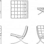 Modern deri koltuk tasarımı