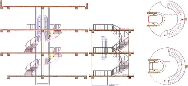 panoramik-asansor-ve-yuvarlak-merdiven-cizimi-dwgindir