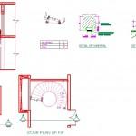 Yuvarlak merdiven detayları