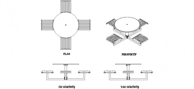 zemin-sabitlemeli-yuvarlak-masalar-ve-arkaliksiz-sandalyeler-dwgindir
