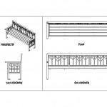 Bahçe bankı tasarımı