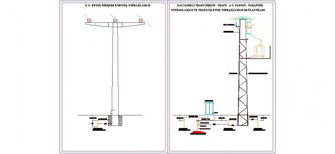 beton-ve-galvanizli-trafo-diregi-topraklama-detaylari-dwgindir