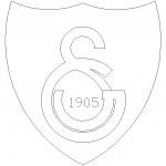 Gs galatasaray logosu çizimi
