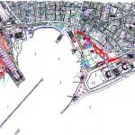 Kadıköy sahili harita paftası
