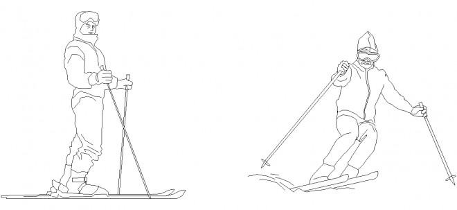 kayakci-cizimleri-dwgindir