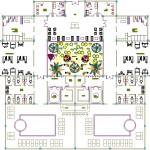 Spa merkezi plan çizimi