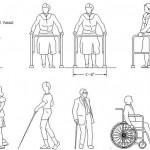 Autocad engelli insan blokları