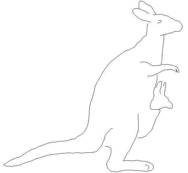 kanguru-cizimi-dwg-dwgindir