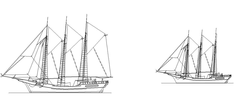 Yelkenli Gemi çizimleri Yelkenli Gemi Tefrişleri Yelkenli Gemi