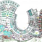 Autocad otel planı