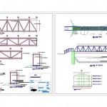 Çelik köprü projesi çizimleri