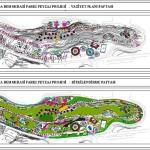 Demokrasi parkı peyzaj projesi