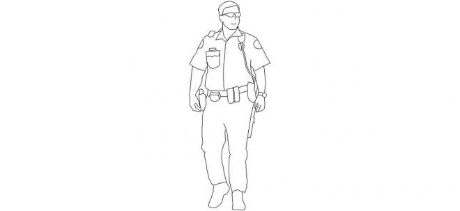 erkek-polis-figuru-dwg-dwgindir