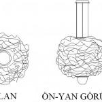 Kağıt lamba tasarımı