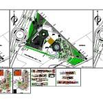 Kültür merkezi projesi autocad