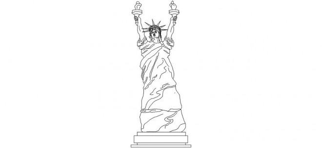 ozgurluk-heykeli-cizimi-dwg-dwgindir