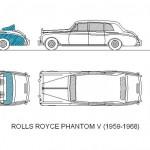 Rolls royce phantom v dwg