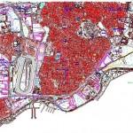 Zeytinburnu harita paftası