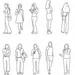 Kadın figürü çizimleri