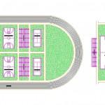 Spor sahası tasarımları