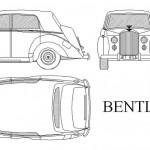Bentley R type klasik otomobil