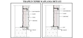 Trapez cephe kaplama detay? www.dwgindir.com