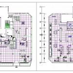 Vitrifiye showroom'u planları