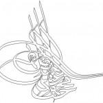 Dwg Osmanlı tuğrası çizimi