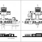 İki katlı okul binası projesi