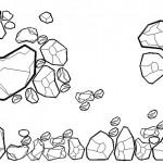 Taş ve kaya blokları