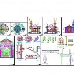 Cami ve şadırvan projesi