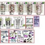 Detaylı mimari konut projesi
