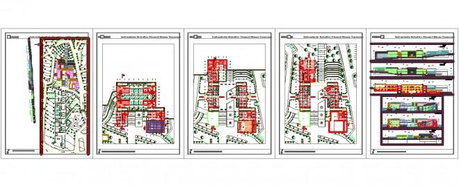 Mimari belediye projesi www.dwgindir.com