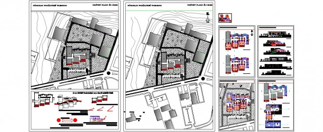Mimarlık fakültesi projesi www.dwgindir.com