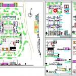Öğrenci yurdu mimari projesi