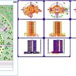 Yuvarlak formda 5 yıldızlı otel projesi